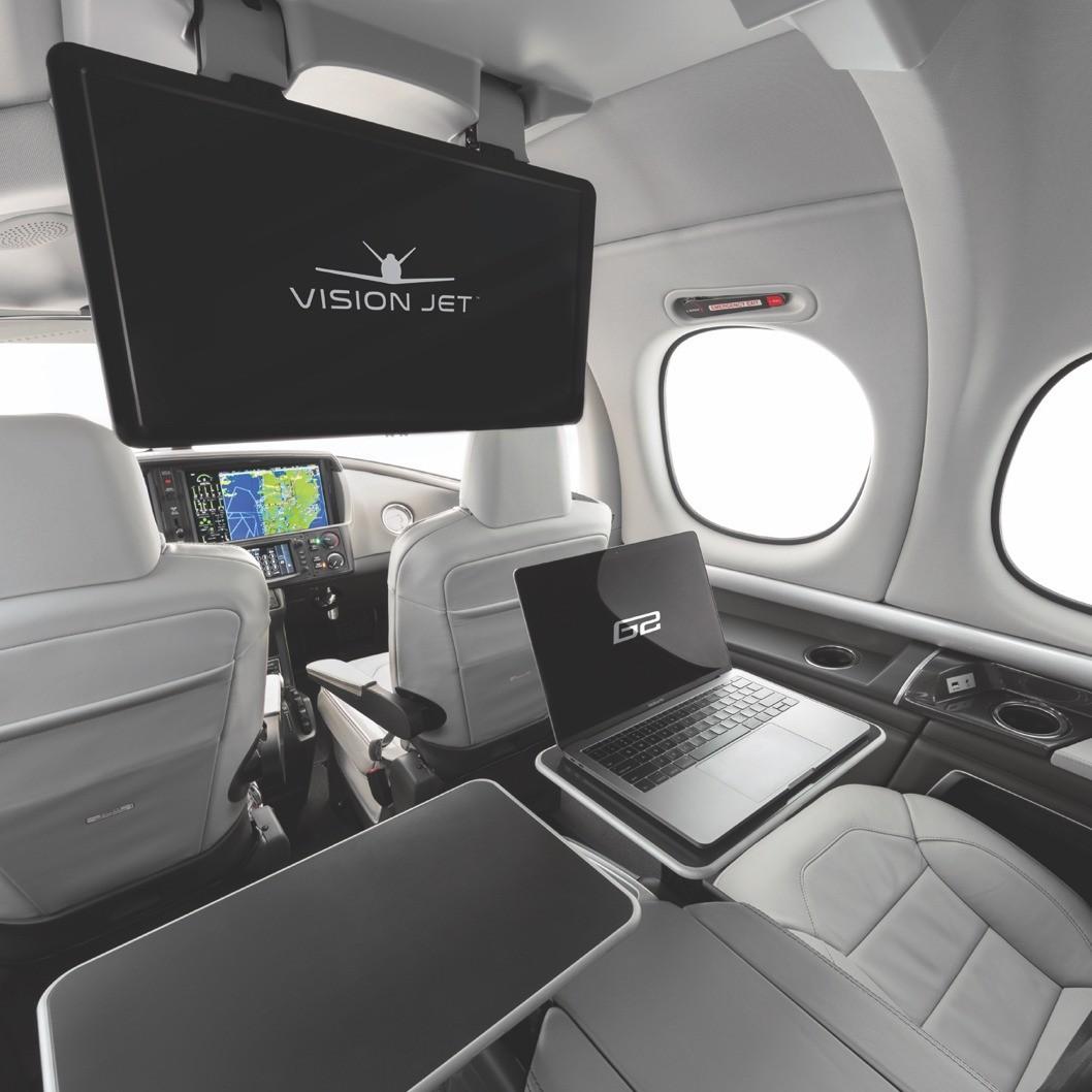 vision-jet cabin